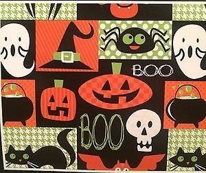 Happy Halloween Spooky Soft Flannel Plush Throw Blanket 50
