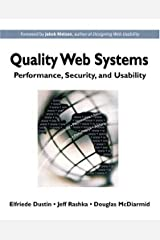 Quality Web Systems: Performance, Security and Usability by Elfriede Dustin (2001-08-23) Paperback
