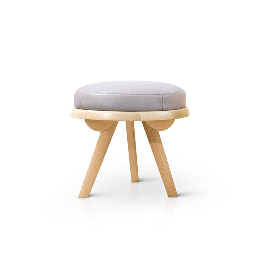 Nordic style modern furniture small stool wood color solid wood living room series of creative stool rest area diameter 40cm amazon co uk office products