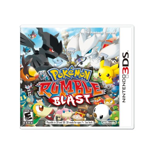Pokemon Rumble Blast (Pokemon Rumble Best Pokemon)