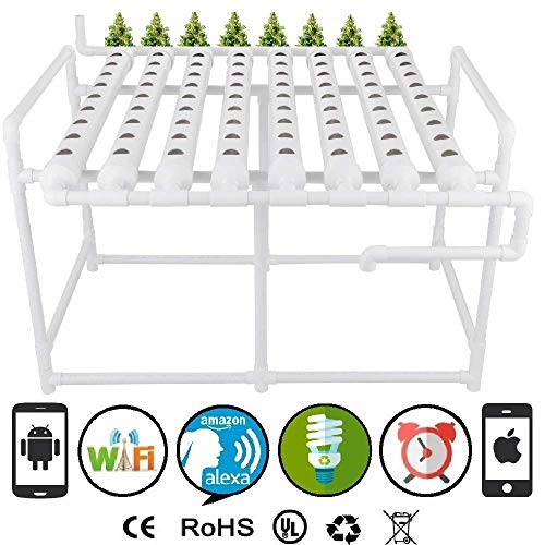 Cultivation Rx Smart 72-Site Continuous Flow Deep Water Culture (DWC) Complete Cycle Hydroponic System (2019)