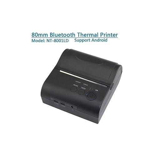 OXHARY Impresora térmica portátil Mini 58mm Impresora de ...