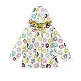 JCJTECH Girls Lightweight Jacket Hooded Windbreaker Spring Autumn Coat Outer Wear for Girls 3-11 Years Old (6-7Y)