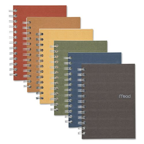 Recycled Notebook, 5 X 7, 80 Sheets, College Ruled, Perforated, Assorted, Sold as 1 Each ()