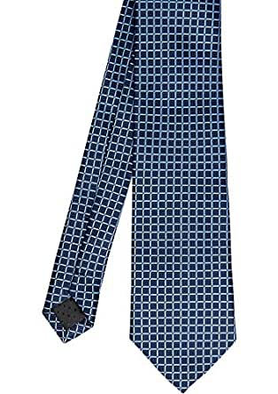 Tarocash Men's Pattern Tie Pattern Tie Navy4 1 Fit Sizes XS-5XL for Going Out Smart Occasionwear Formal