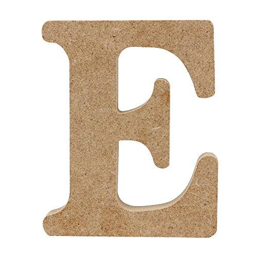 NNCTA Log Color Wooden Letter Ornaments