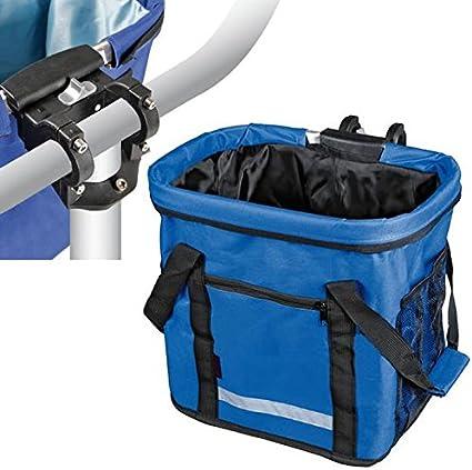 AutoScheich® Cesta de bicicleta bicicleta bolsa bolsa de ...