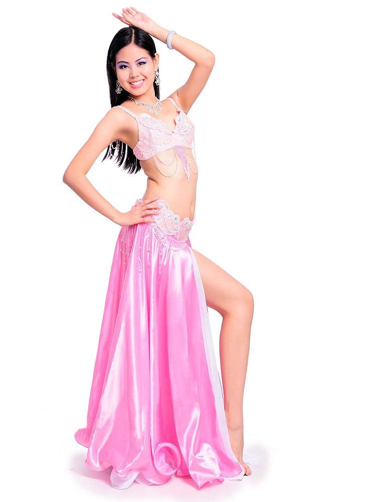 2019人気No.1の ベリーダンス 衣装 Large セット ベリーダンス コスチューム セット ブラトップ ブラトップ 腰ベルト スカートのセット 衣装 コスチューム B075NKKZJM Large|ピンク ピンク Large, ベイドラッグ:af89324b --- a0267596.xsph.ru