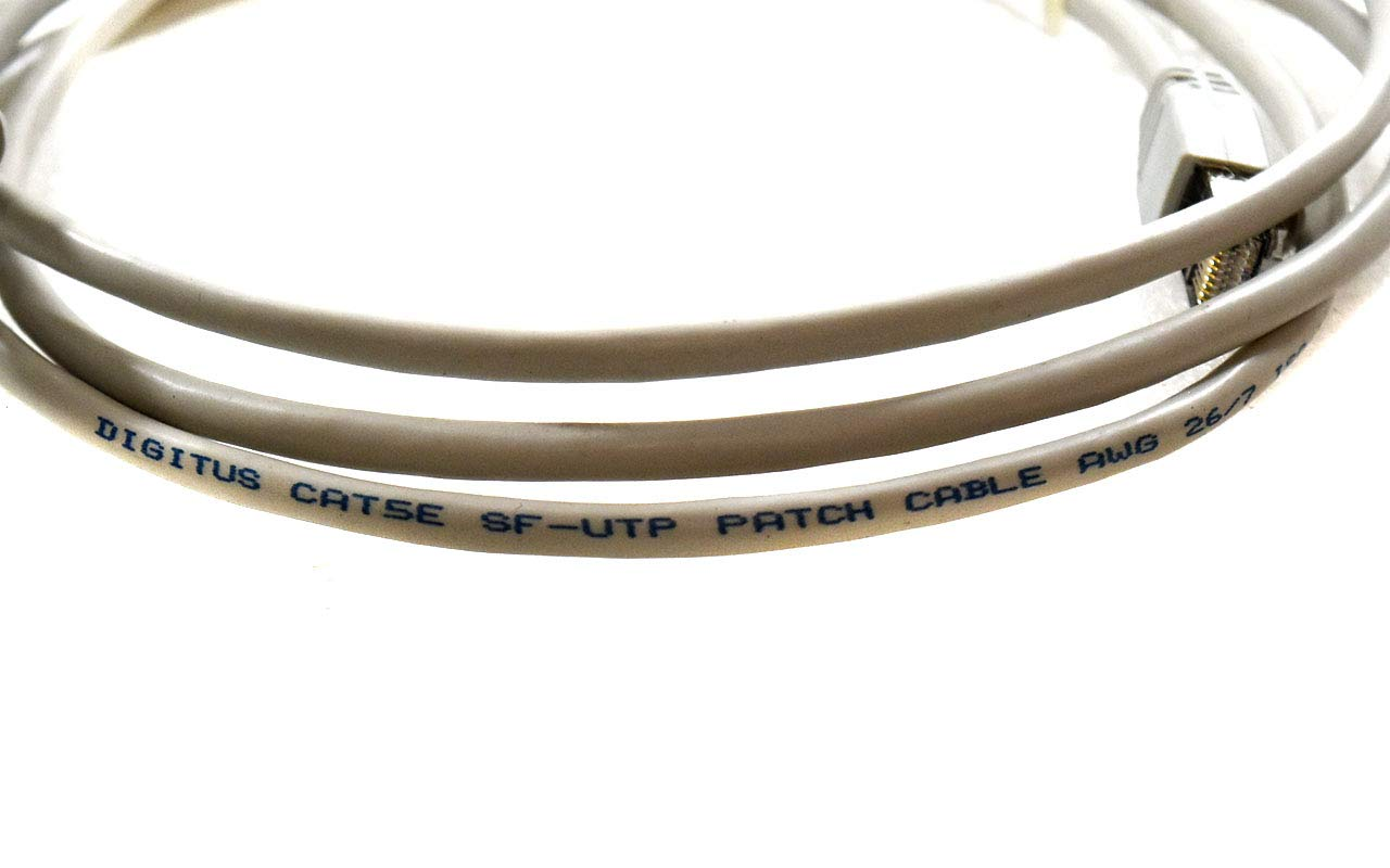 2.5 Digitus R0472//15 CAT5E SF-UTP Patch Cable Set 1//pkg 26//7AWG 1.5 6 Feet Cable Sizes