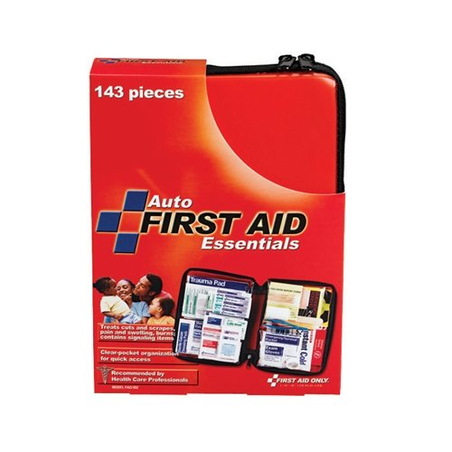First Aid Only 143 Piece Auto First Aid Kit, Soft Case