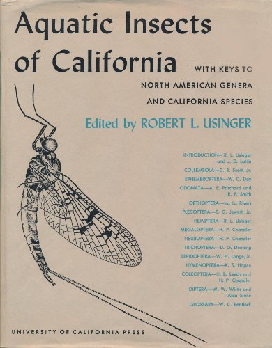 Aquatic Insects of California: With Keys to North American Genera and and California Species.