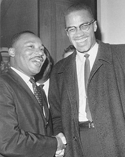Martin Luther King Jr. & Malcom X 8 x 10 * 8x10 Photo Picture IMAGE #2 *SHIPS FROM USA*