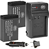 : BM Premium 2-Pack of LP-E17 Batteries and Battery Charger for Canon Rebel SL2, EOS M3, EOS M5, EOS M6, EOS Rebel T6i, T6s, T7i, EOS 77D, EOS 750D, EOS 760D, EOS 8000D, KISS X8i Digital SLR Camera
