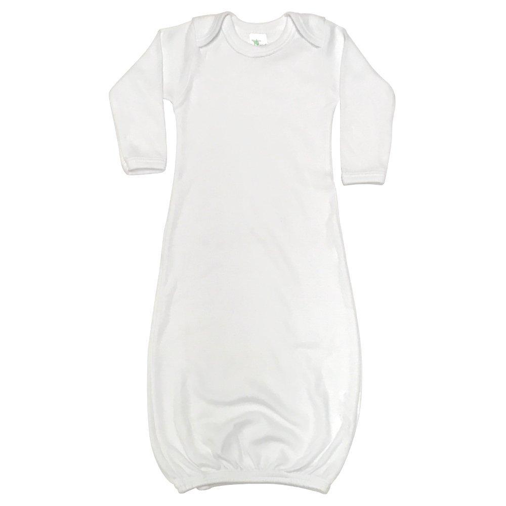The Laughing Giraffe Unisex Long Sleeve Baby Sleeper Gown LGS3800