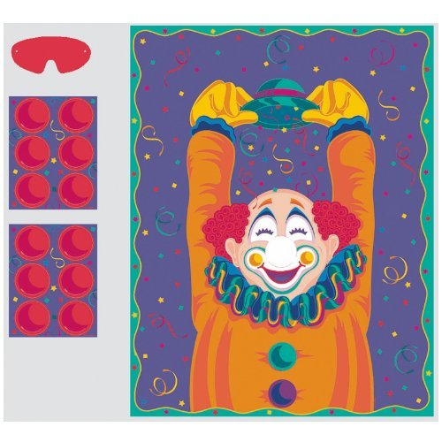 Clown Party Game (game For 16 Players) -