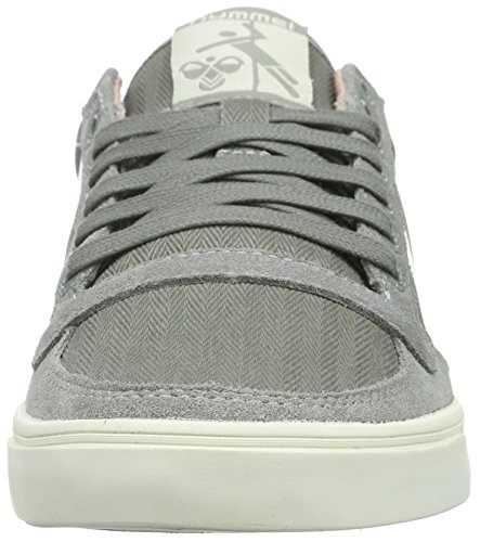 Moon Hummel Stadil Mist Low Grey Sneakers Women's Slimmer Top Herringbone S8SRHwq