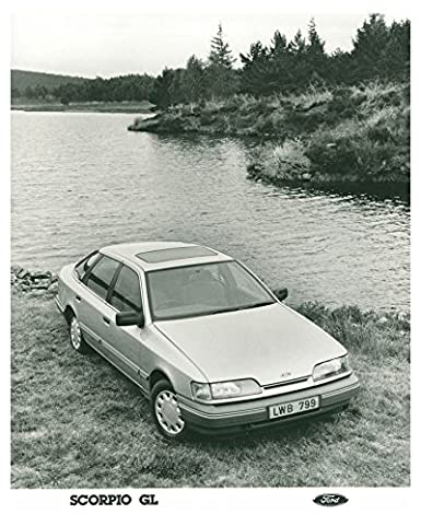 1985 Ford Scorpio GL Automobile Photo Poster