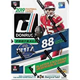 2019 Donruss Football Unopened Blaster Box of Packs with One Exclusive Memorabilia Card and 11 Rookie Cards in Each Box…