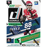 2019 Donruss Football Unopened Blaster Box of Packs with One Exclusive Memorabilia… photo