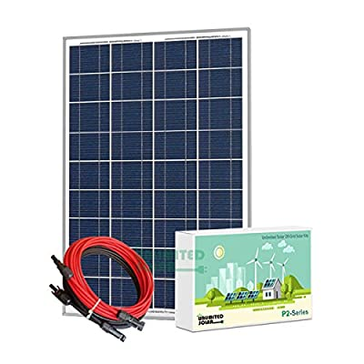 Unlimited Solar P2 Series 85 Watt 12 Volt Off-Grid Solar Panel Kit