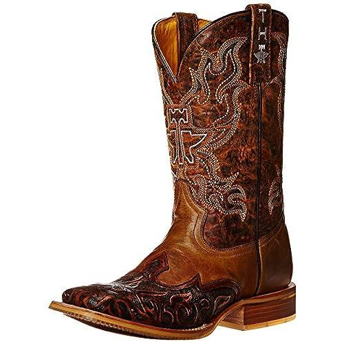 97dbfb0df17 Tin Haul Shoes Men's Smokin Hot Western Boot best - appleshack.com.au