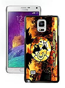 Hot Sale Samsung Galaxy Note 4 Screen Cover Case With Club America 5 Black Samsung Note 4 Case Unique And Beautiful Designed Phone Case