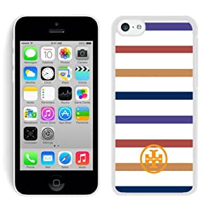 Unique And Luxurious Designed For iPhone 5C Cover Case With Tory Burch 06 White Phone Case