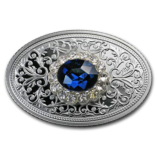 - 2019 PL Republic of Cameroon Silver The Royal Brooch Silver Brilliant Uncirculated