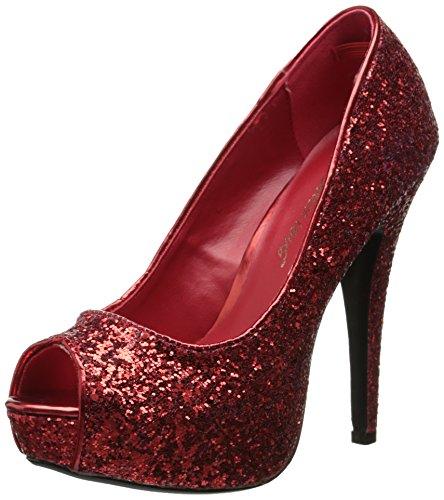 Halloween Glitter 18G Schuhe TWINKLE Red Funtasma Kostüm Fasching Karneval xO1qTAz