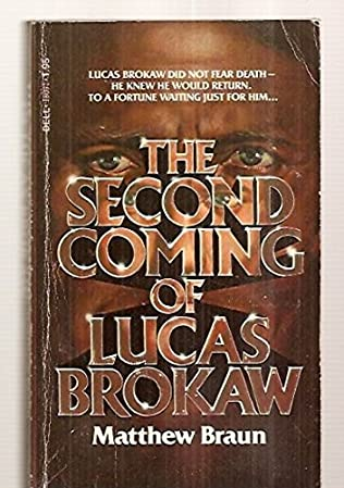 book cover of The Second Coming of Lucas Brokaw