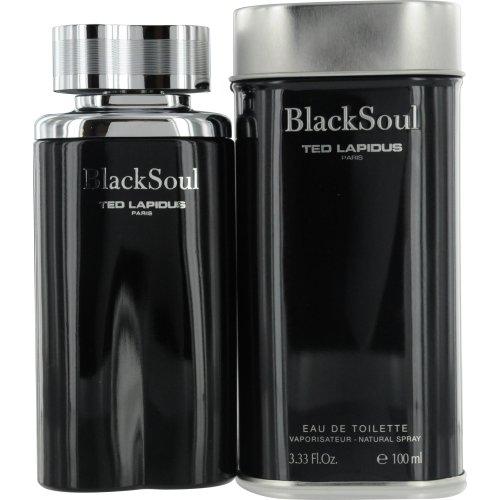 3.4 Spray Ounce Soul - Ted Lapidus Black Soul for Men 3.3-ounce Eau de Toilette Spray