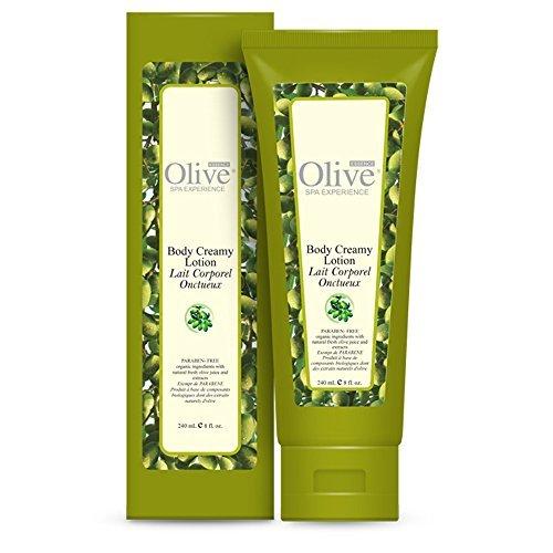 reamy Lotion, Paraben-free, 8 oz by Olive Essence (Olive Essence Spa)