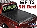 Gator 2015-2018 Chevy Colorado GMC Canyon 5 FT. Bed Recoil Retractable Tonneau Truck Bed Cover (G30454) (Matte) Made in The USA