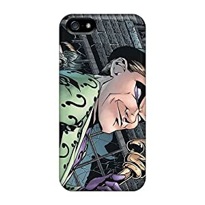 Tpu Case Cover Compatible For Iphone 5/5s/ Hot Case/ The Riddler I4