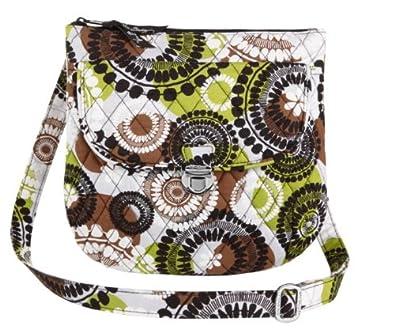 Vera Bradley Saddle Hipster Cocoa Moss  Handbags  Amazon.com 307c681b86242
