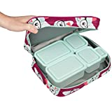 Bentology Lunch Box for Girls - Kids Insulated