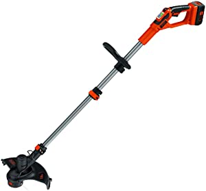 Factory-Reconditioned Black & Decker LST136R-36V 36V Cordless Lithium-Ion 13 in. Straight Shaft Electric String Trimmer(Renewed)