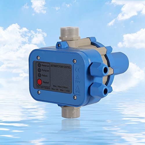 Automatic Electric Electronic Switch Control Water Pump Pressure Controller50/60HZ110VWater Pump Pressure Controller by GOTOTOP