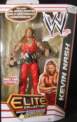 WWE Figure Belt Mattel Elite Kevin Nash Black NWO World Title Belt