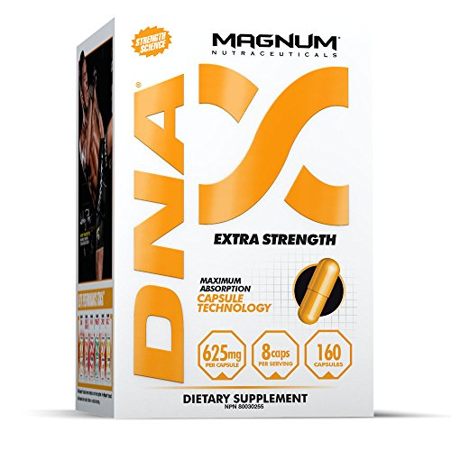 Magnum Nutraceuticals DNA – 160 Capsules – Extra Strength – Muscular Endurance – Increase Reps – Reduce Ammonia Buildup – Enhance Post Workout For Sale
