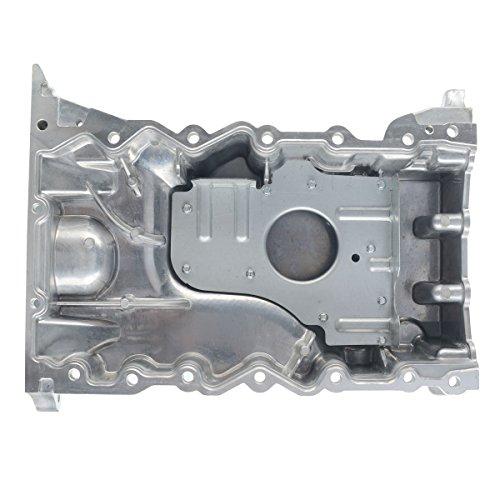 A-Premium Engine Oil Pan for Lincoln MKZ 2007-2012 MKS MKT MKX Mercury Sable Ford Edge Flex Fusion Taurus