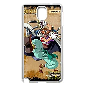 Samsung Galaxy Note 3 White phone case One piece Buggy the Star Clown ONP5100304