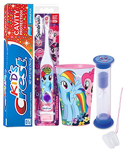 my-little-pony-rainbow-dash-4pc-bright-smile-oral-hygiene-set-spin-toothbrush-crest-sparkling-toothp