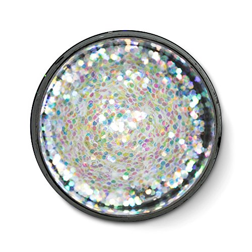 Very-Fine Polyester Glitter, Opalescent Mix, 1/2 ()