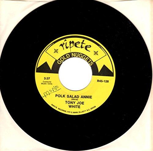 (Tony Joe White: Polk Salad Annie by Tony Joe White B/w Double Shot (of My Baby's Love) by the Swinging Medallions)