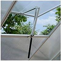 Apertura automática de las ventanas para invernadero lucarne refugio jardín lève-fenêtre automático ventilación solar