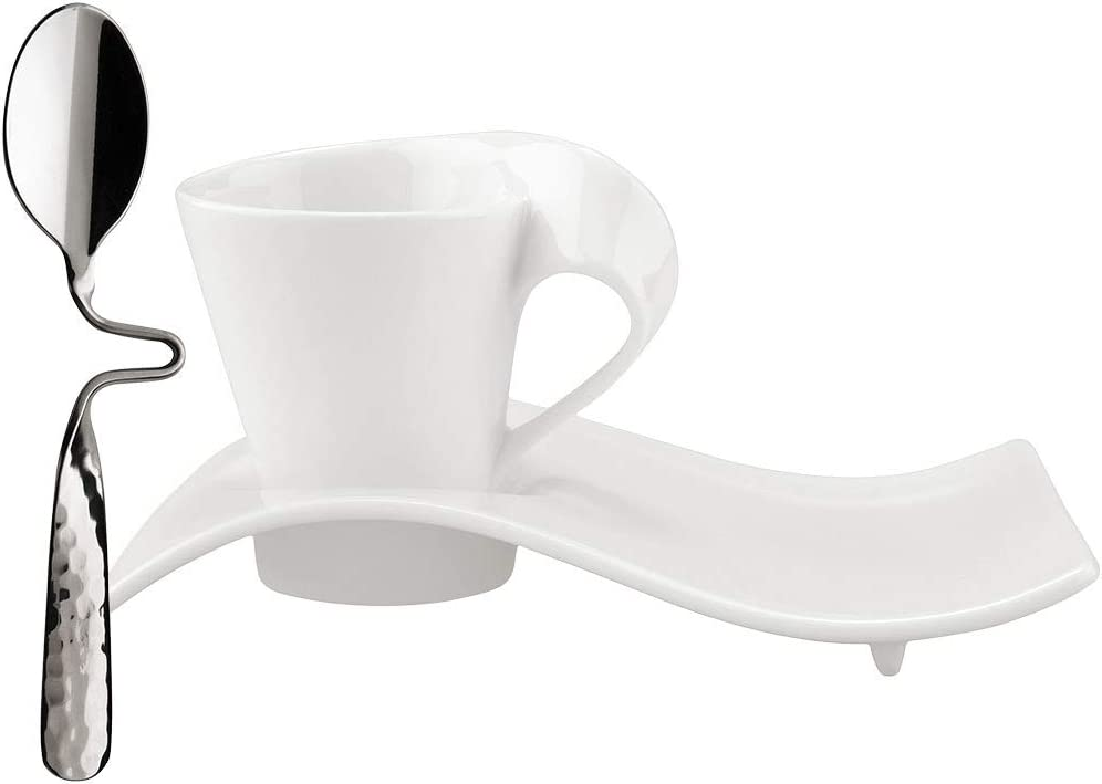 Villeroy & Boch NewWave Jarra de Leche, Porcelana Premium, Blanco ...
