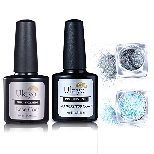 Gel Base And Top Coat Chrome Nail Powder