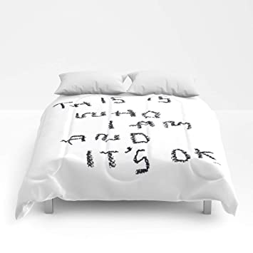 Amazoncom Society6 Comforter Size Full 79 X 79 Self Love