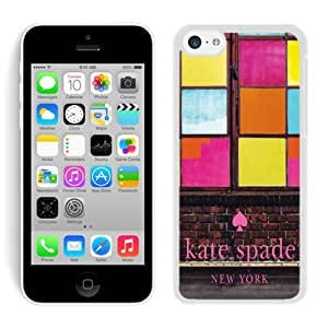 Popular Customize iPhone 5C Phone Case Kate Spade New York Unique Cover Case For iPhone 5C 267 White
